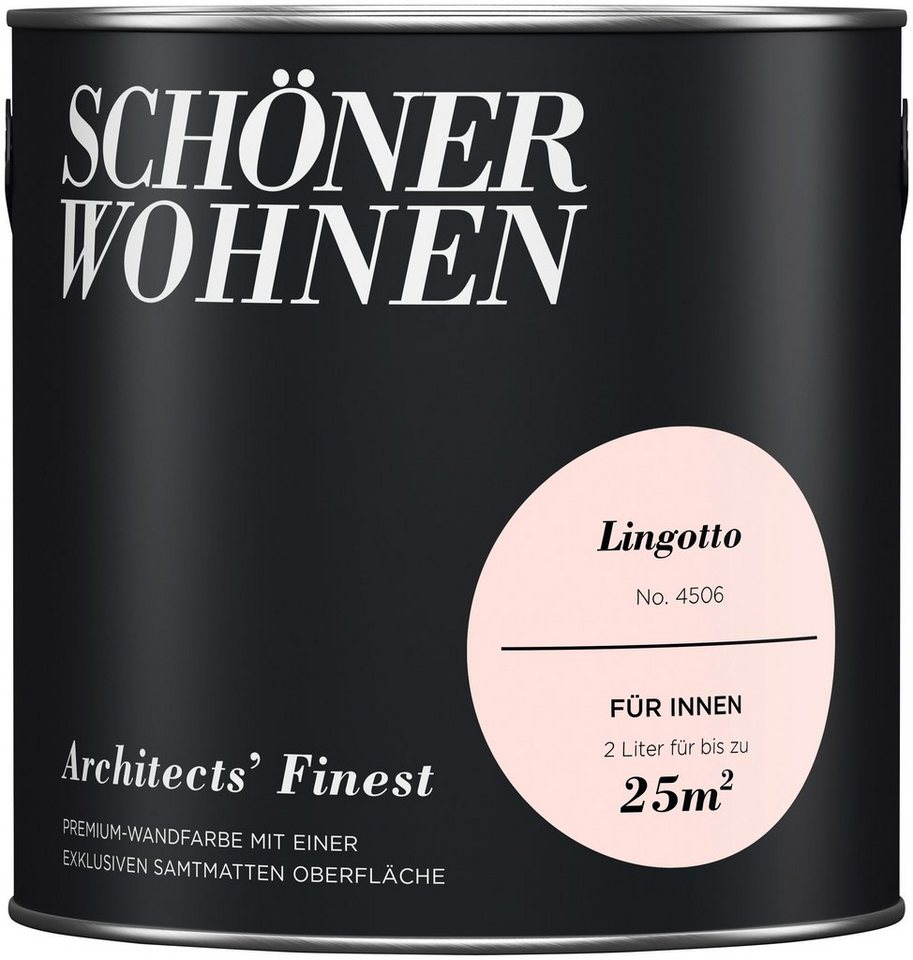 sch ner wohnen farbe wand und deckenfarbe architects 39 finest lingotto online kaufen otto. Black Bedroom Furniture Sets. Home Design Ideas