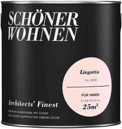 SCHÖNER WOHNEN-FARBE Wand- und Deckenfarbe »Architects' Finest«, Lingotto