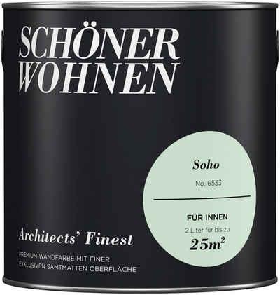 SCHÖNER WOHNEN FARBE Wand  Und Deckenfarbe »Architectsu0027 Finest«, ...