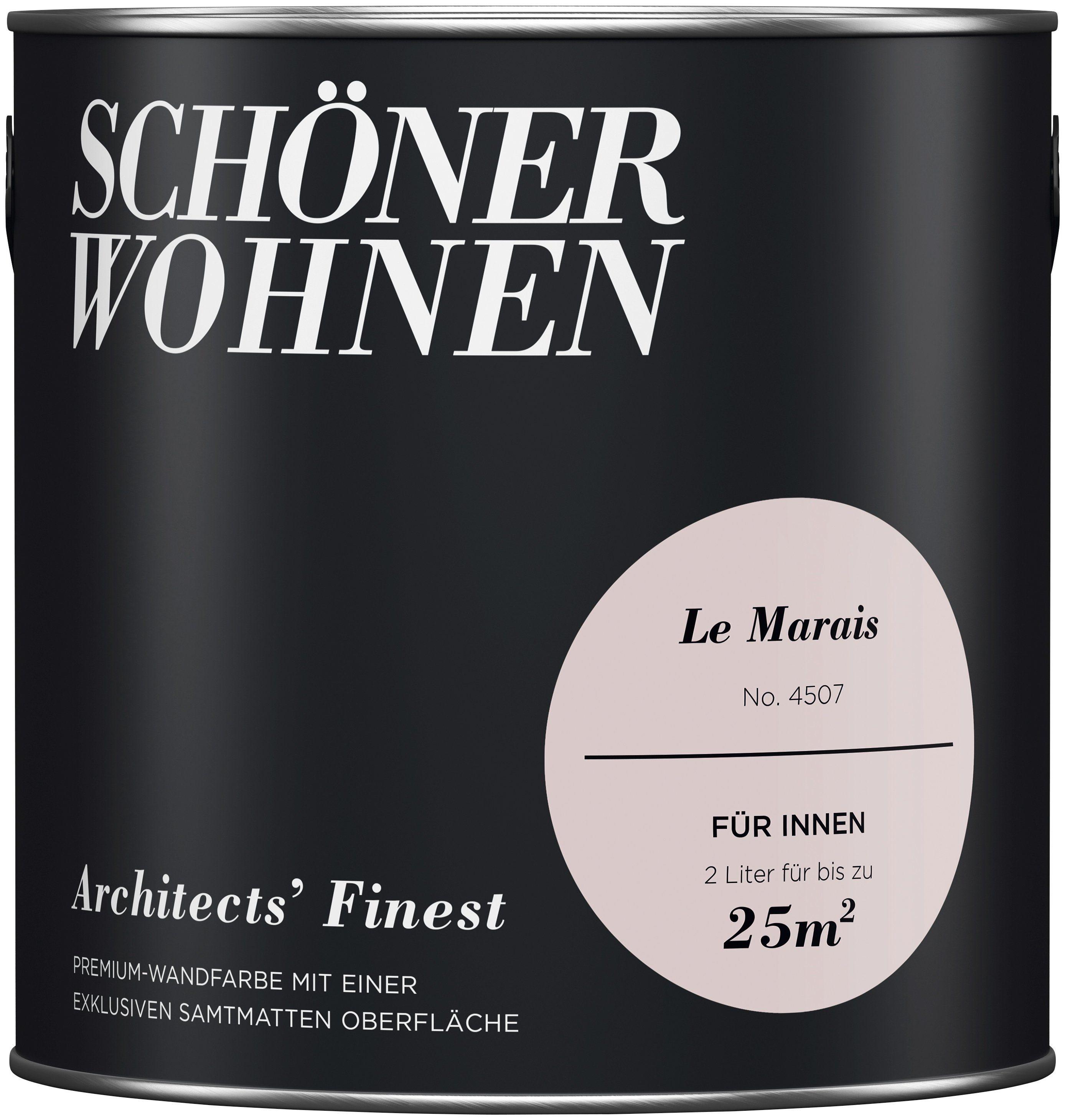 SCHÖNER WOHNEN-FARBE Wand- und Deckenfarbe »Architects' Finest«, Le Marais
