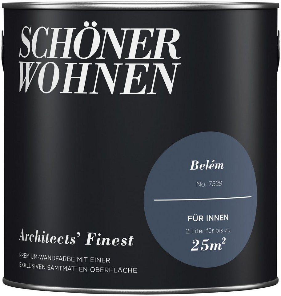 sch ner wohnen farbe wand und deckenfarbe architect 39 s finest bel m online kaufen otto. Black Bedroom Furniture Sets. Home Design Ideas