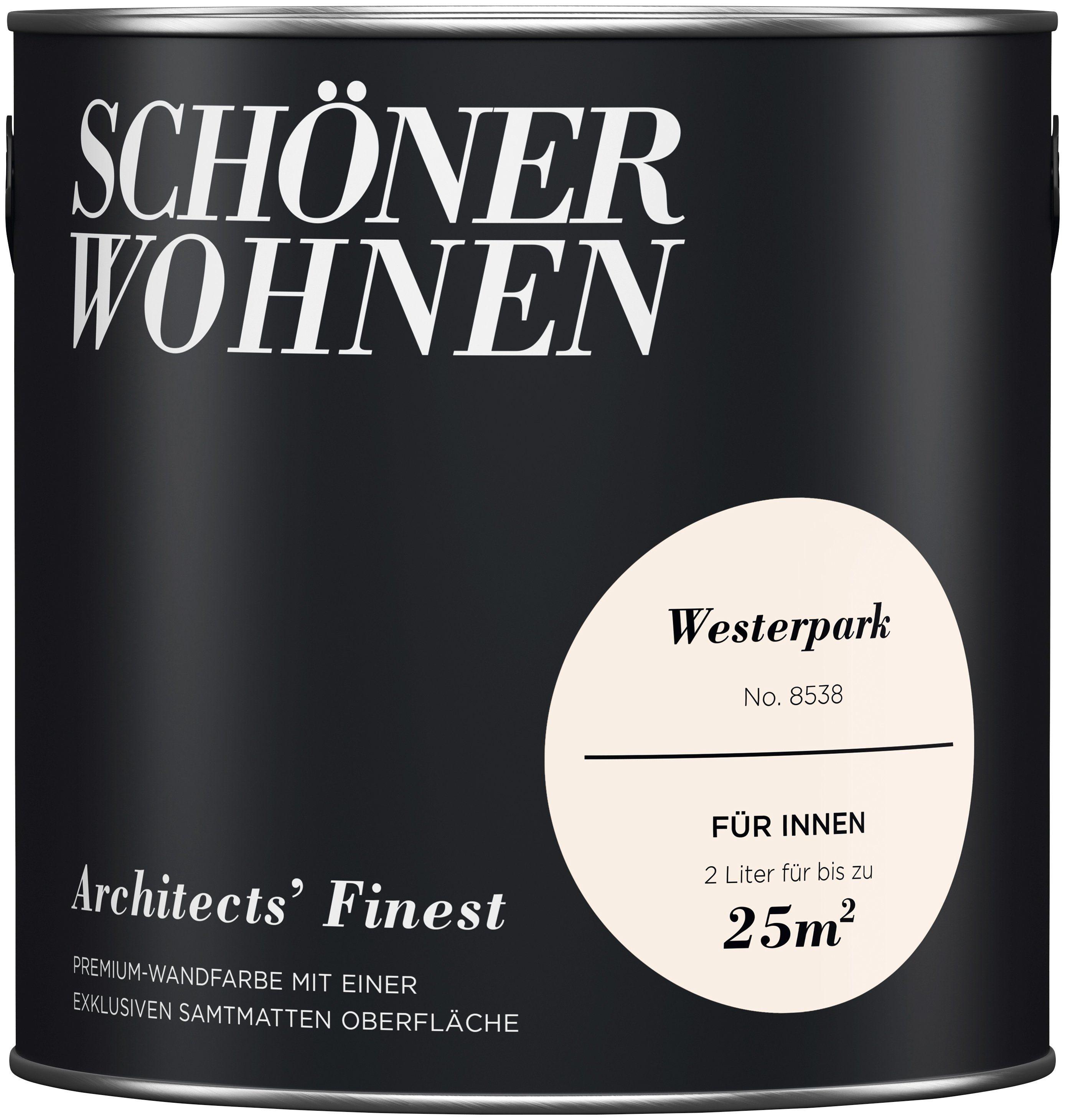 SCHÖNER WOHNEN-FARBE Wand- und Deckenfarbe »Architects' Finest«, Westerpark