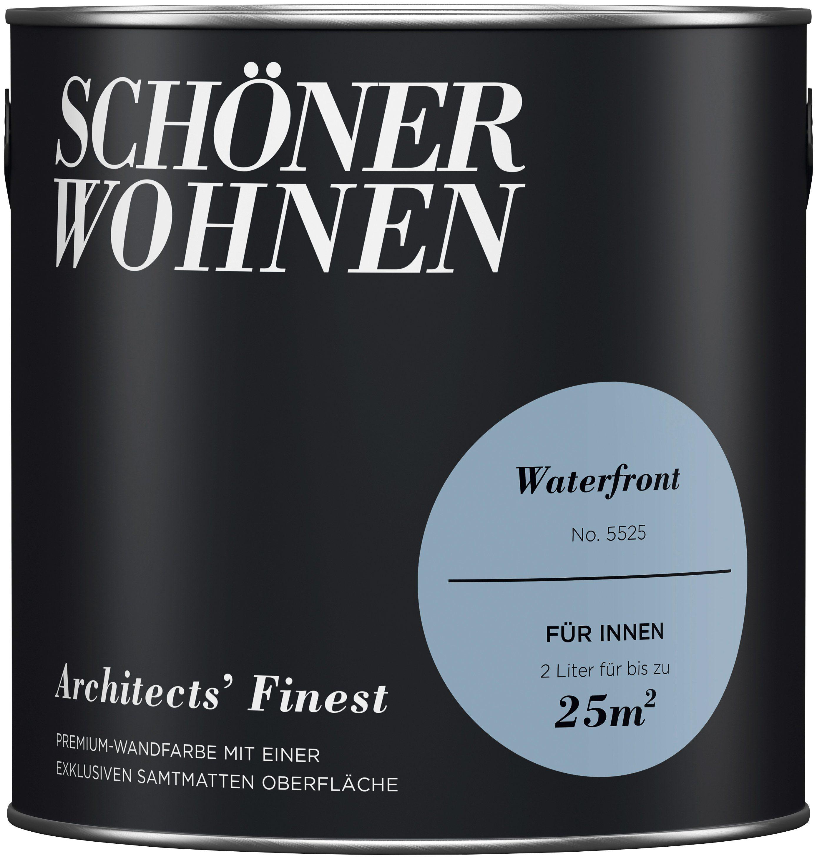 SCHÖNER WOHNEN-FARBE Wand- und Deckenfarbe »Architects' Finest«, Waterfront