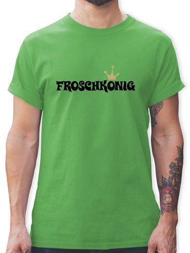 Shirtracer T-Shirt »Froschkönig - Karneval & Fasching - Herren Premium T-Shirt - T-Shirts« t shirt herren froschkönig