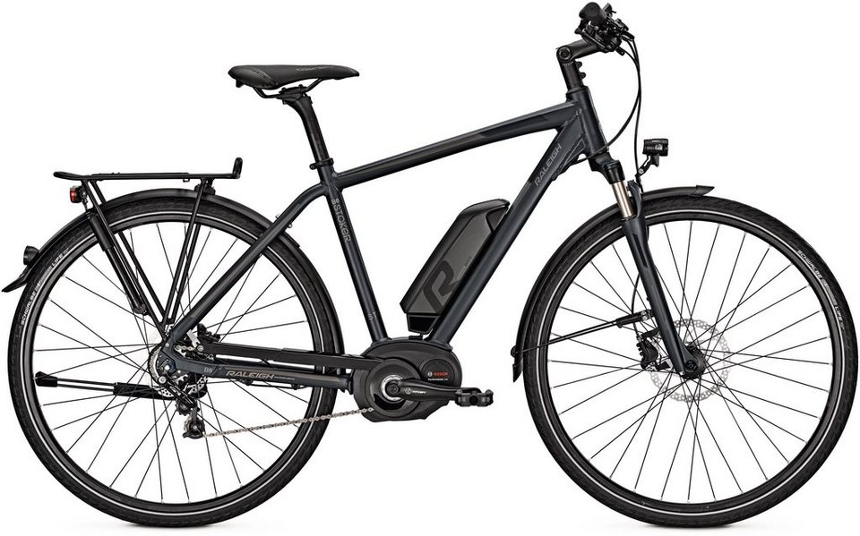 raleigh herren trekking e bike 28 zoll 8 gang shimano. Black Bedroom Furniture Sets. Home Design Ideas