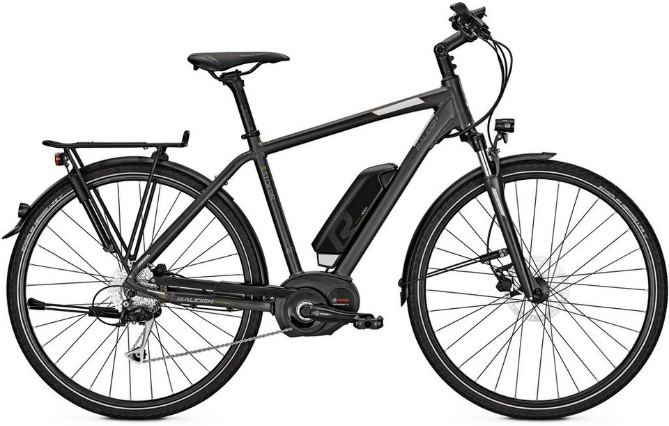 raleigh herren trekking e bike 28 zoll 9 gang shimano. Black Bedroom Furniture Sets. Home Design Ideas