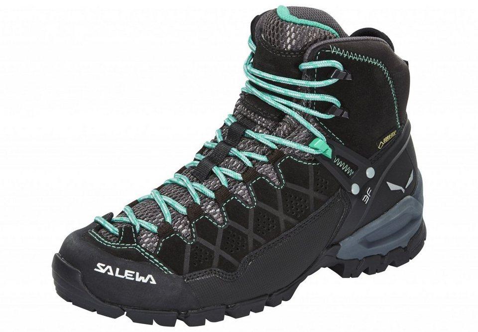 Salewa Kletterschuh »Alp Trainer Mid GTX Shoes Women« in schwarz
