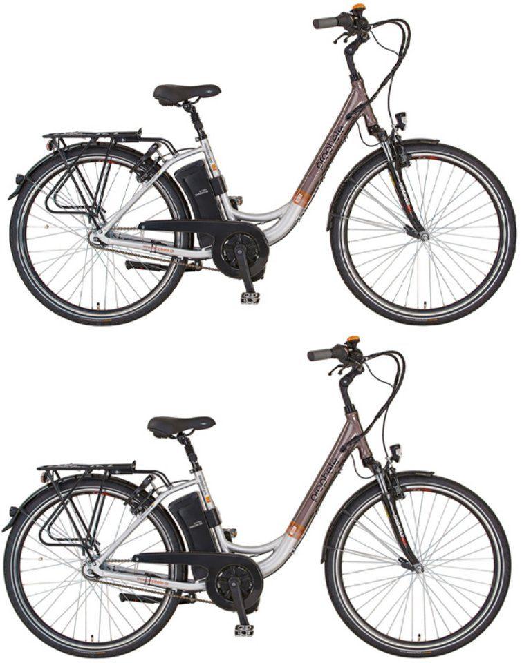 Prophete Sparset, E-Bike City, 28 Zoll, 36V/250W Mittelmotor, 7 G., »Navigator Pro«