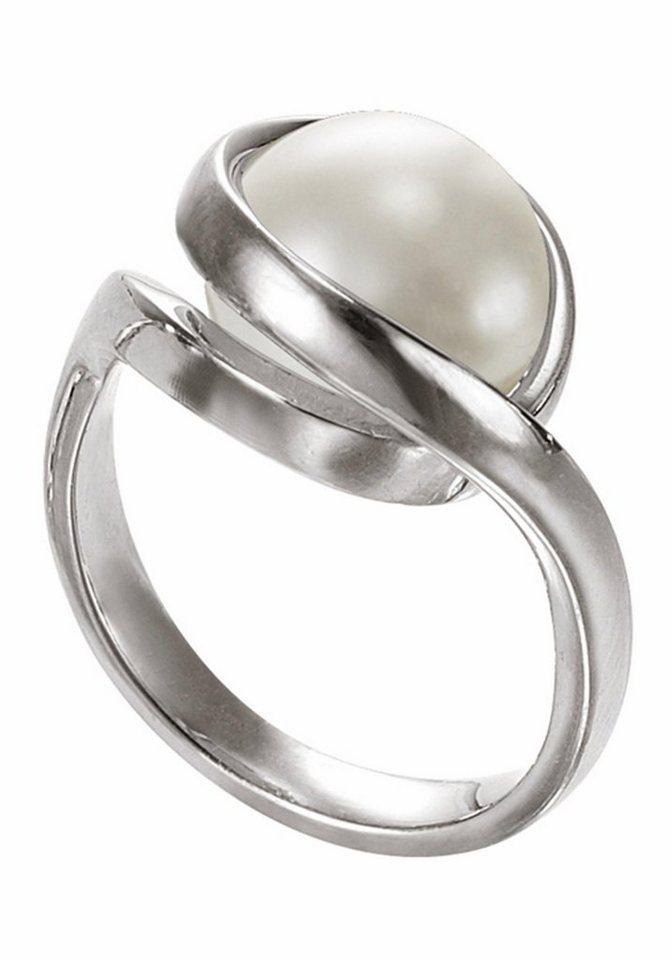 Merii Silberring »M0518R/90/C7/54«, mit Glasperle - Preisvergleich