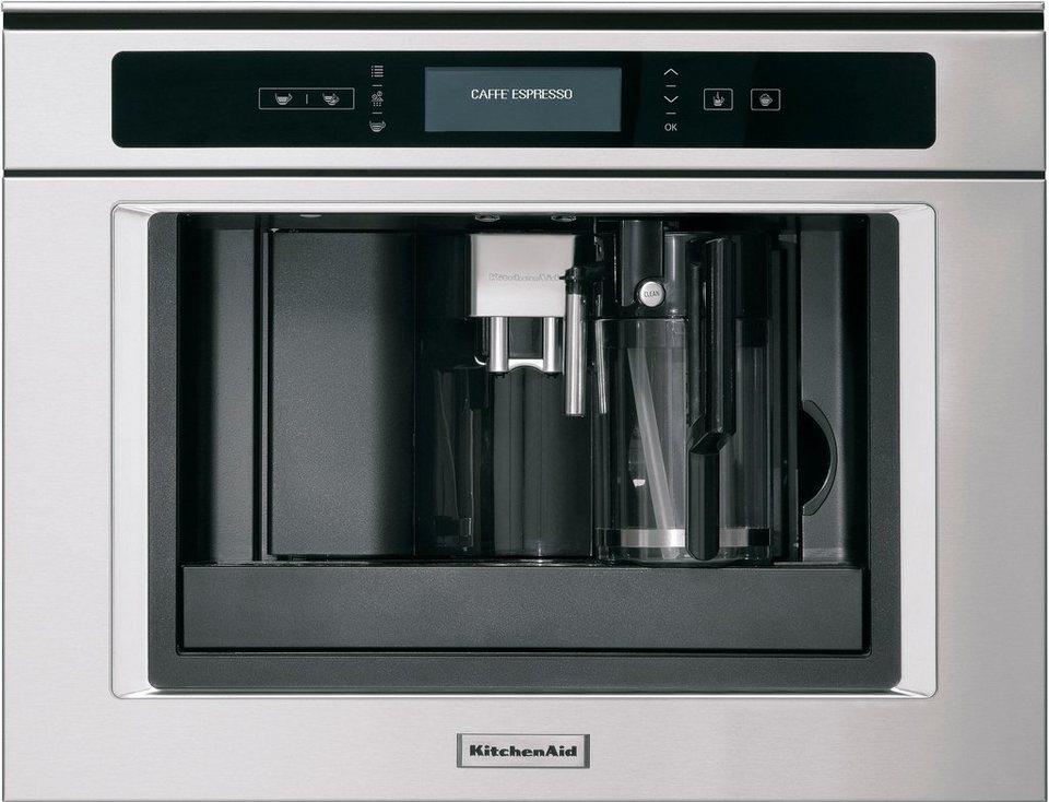 kitchenaid einbau kaffeevollautomaten kqxxx 45600 2l tank online kaufen otto. Black Bedroom Furniture Sets. Home Design Ideas