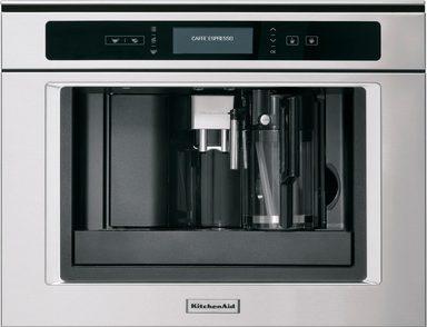 kitchenaid einbau kaffeevollautomaten kqxxx 45600 2l tank. Black Bedroom Furniture Sets. Home Design Ideas