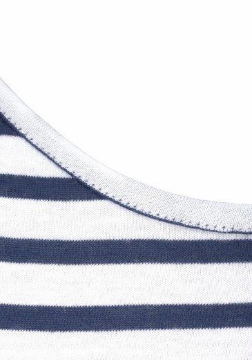 Schiesser Nachthemd in Midi-Länge mit Rundhalsausschnitt