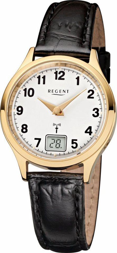 Regent Funkuhr »12030074-FR194«   Uhren > Funkuhren   Schwarz   Regent