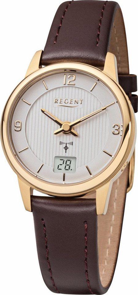 Regent Funkuhr »12030079-FR197«   Uhren > Funkuhren   Braun   Regent