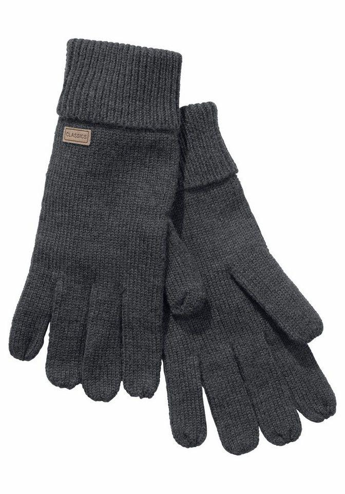 J.Jayz Strickhandschuhe mit Rippenbund | Accessoires > Handschuhe > Strickhandschuhe | Grau | J.Jayz