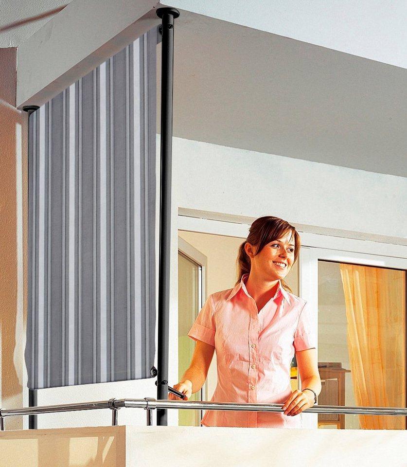 Angerer Freizeitmöbel Balkonsichtschutz »Polyacryl, anthrazit« in 2 Breiten in grau