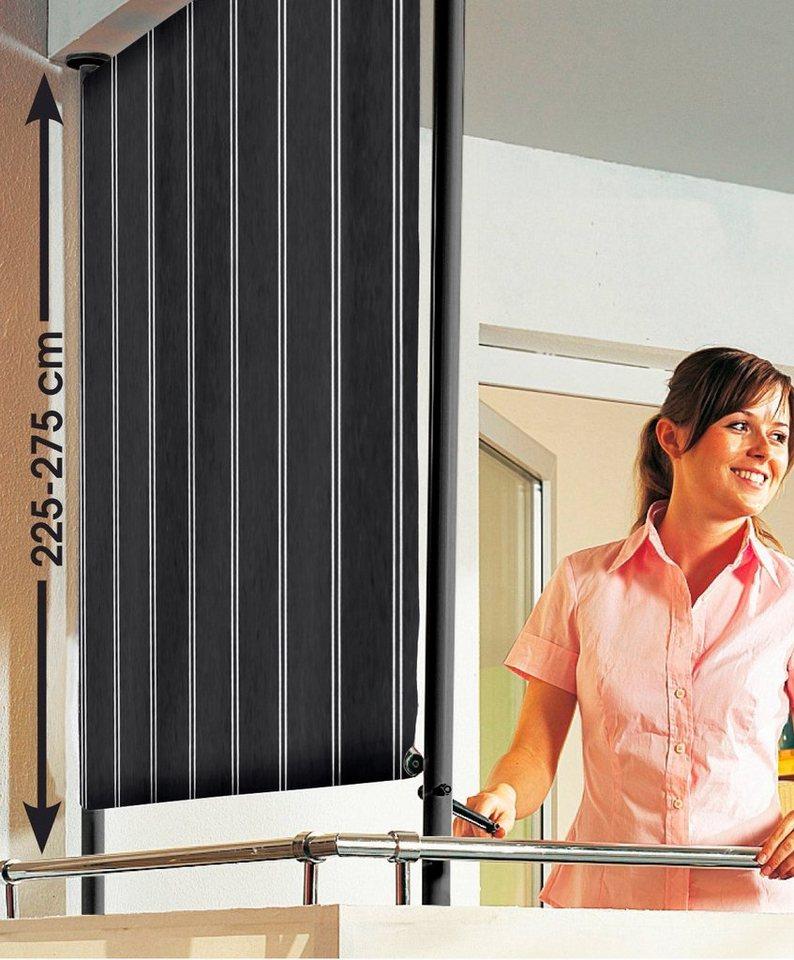 angerer freizeitm bel balkonsichtschutz polyacryl braun wei in 2 breiten online kaufen otto. Black Bedroom Furniture Sets. Home Design Ideas