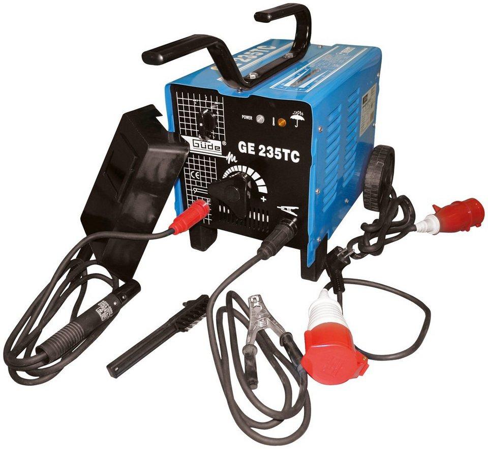 gÜde elektroschweißgerät »ge 235 tc« online kaufen | otto