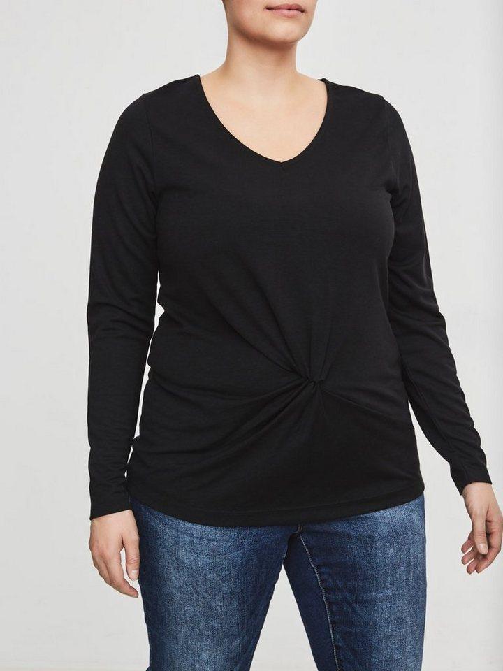junarose langarm bluse mit v ausschnitt kaufen otto. Black Bedroom Furniture Sets. Home Design Ideas