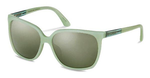 PORSCHE Design Porsche Design Damen Sonnenbrille » P8589«, grün, C - grün/grün