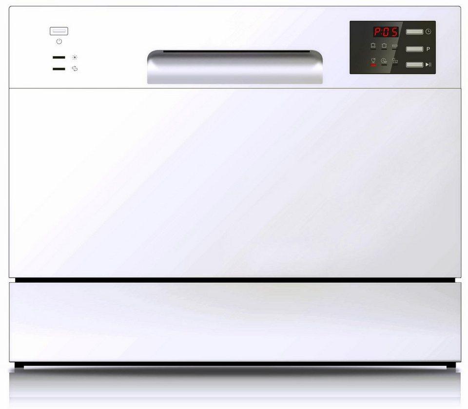 Hanseatic Geschirrspüler WQP6 3602E white A A 6 5