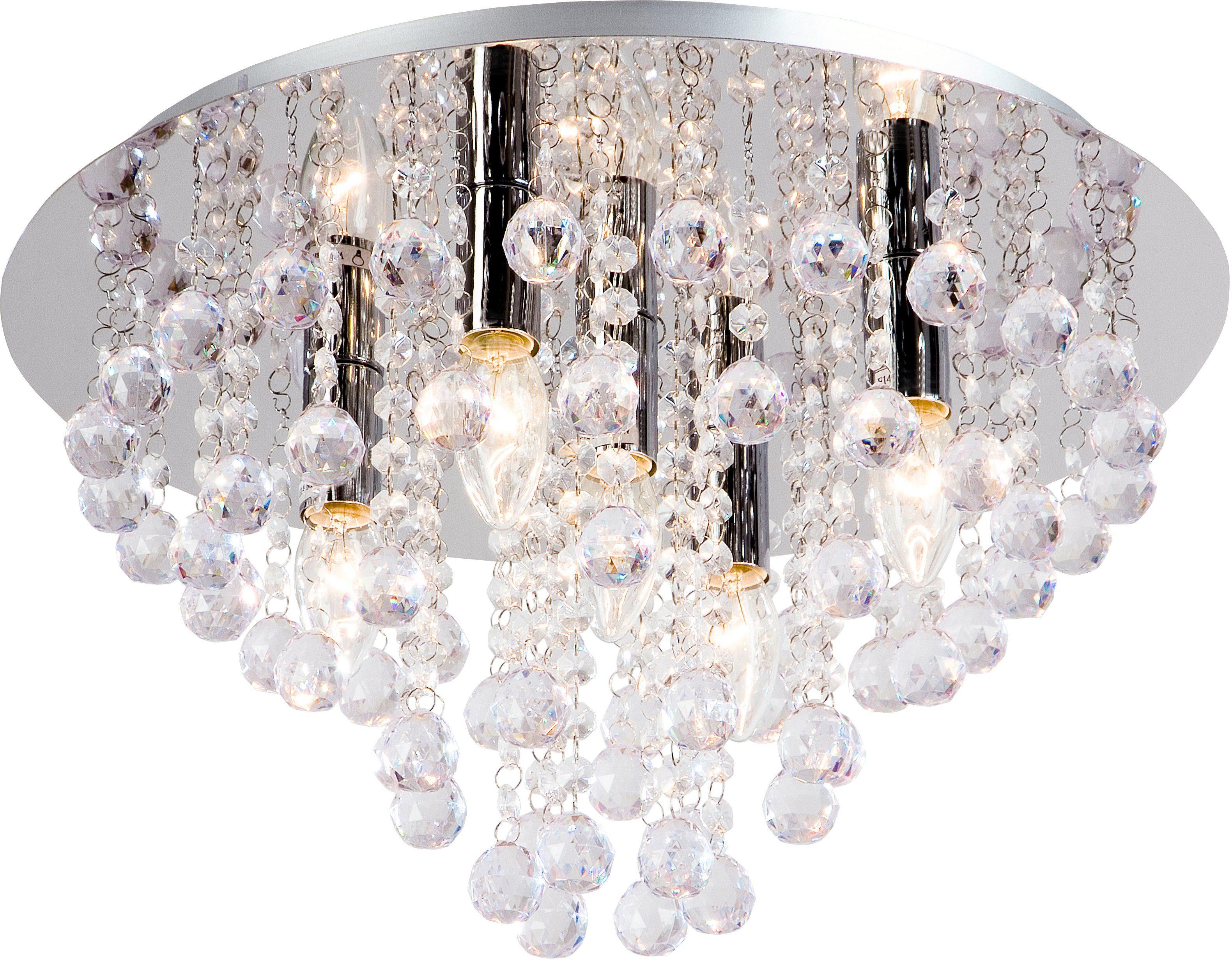 Hängelampe Kronleuchter Kristall ~ Lampe aus kristall online kaufen kristalllampe otto