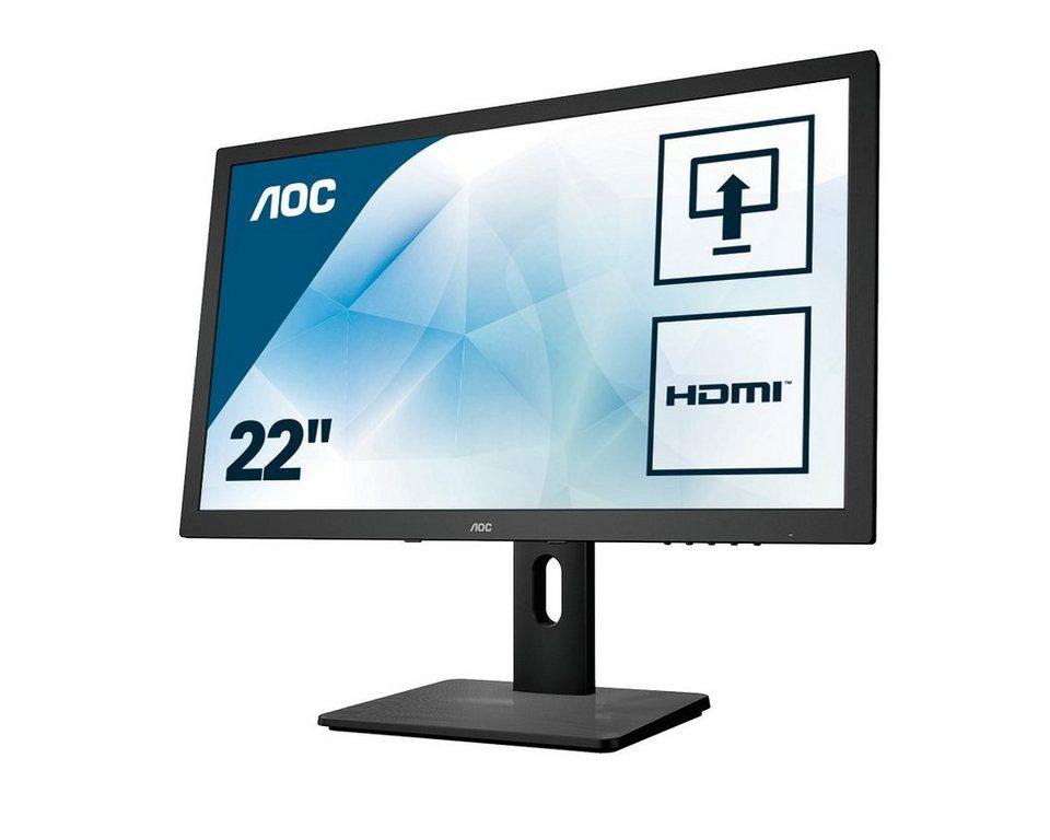 aoc full hd monitor 54 6 cm 21 5 zoll e2275pwj online kaufen otto. Black Bedroom Furniture Sets. Home Design Ideas