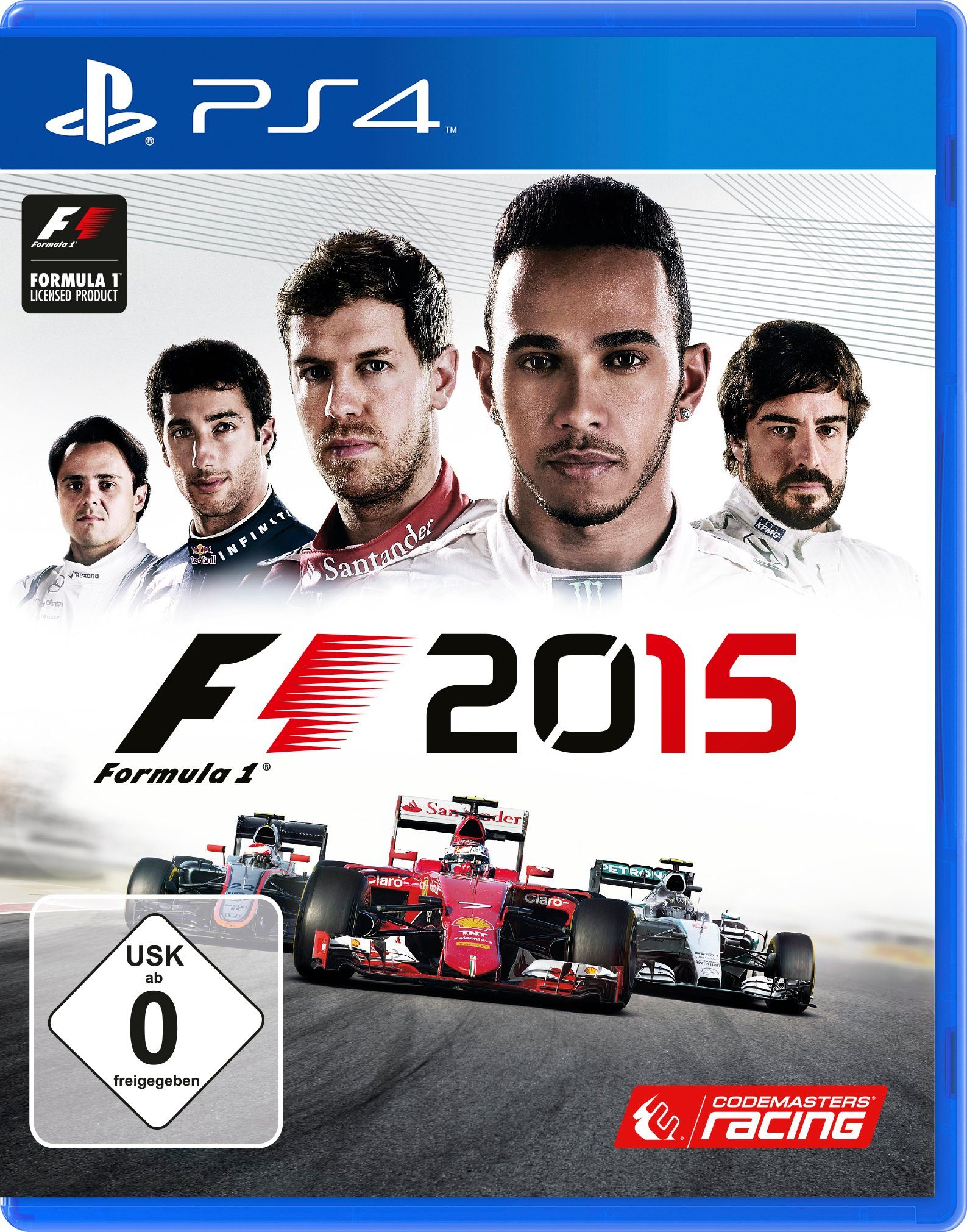 Koch Media Software Pyramide - Playstation 4 Spiel »F1 2015«