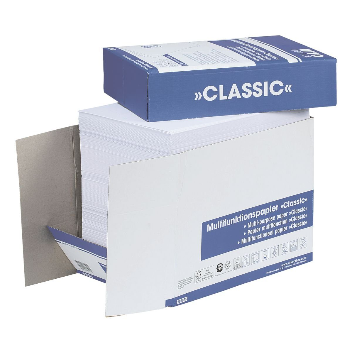 OTTOOFFICE STANDARD Öko-Box Multifunktionales Druckerpapier »Classic«