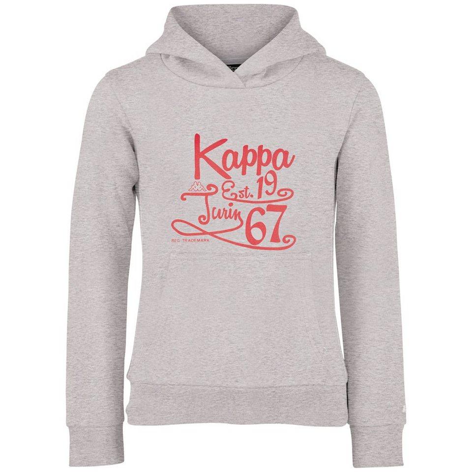 KAPPA Sweatshirt »VEGA JUNIOR« in grey melange