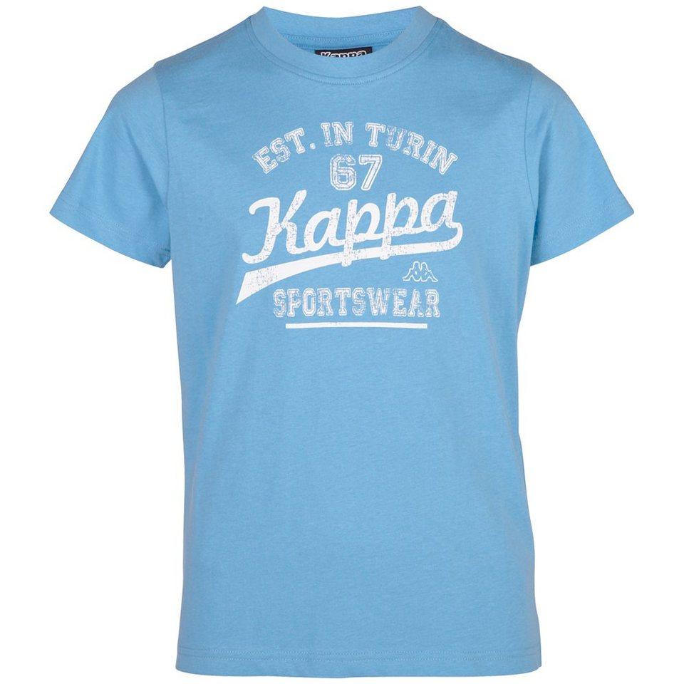 KAPPA T-Shirt »WALLACE KIDS« in ocean