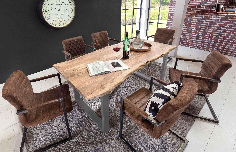 Esstisch Akazie Hell ~ Massivholz esstisch kaufen esszimmertisch aus holz otto