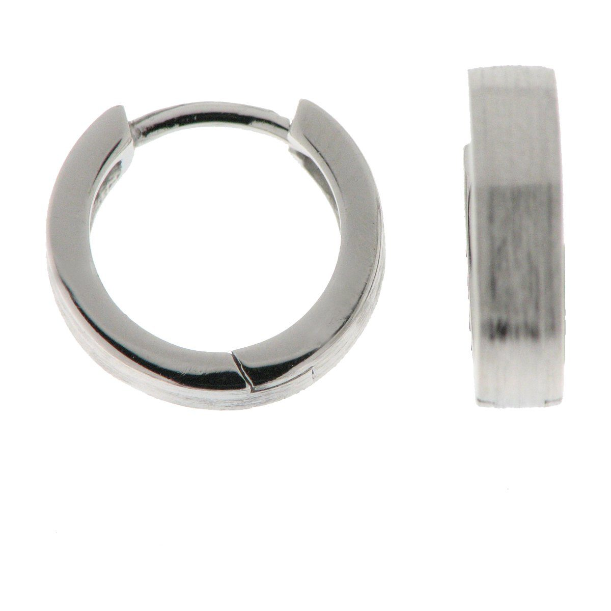 Zeeme Creolen »925/- Sterling Silber mattiert«