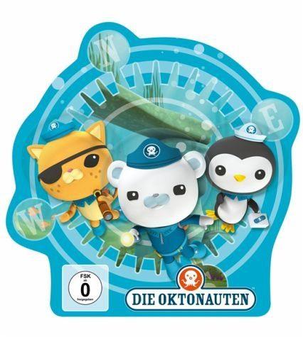 DVD »Die Oktonauten - Folgen 7, 8, 9 DVD-Box«