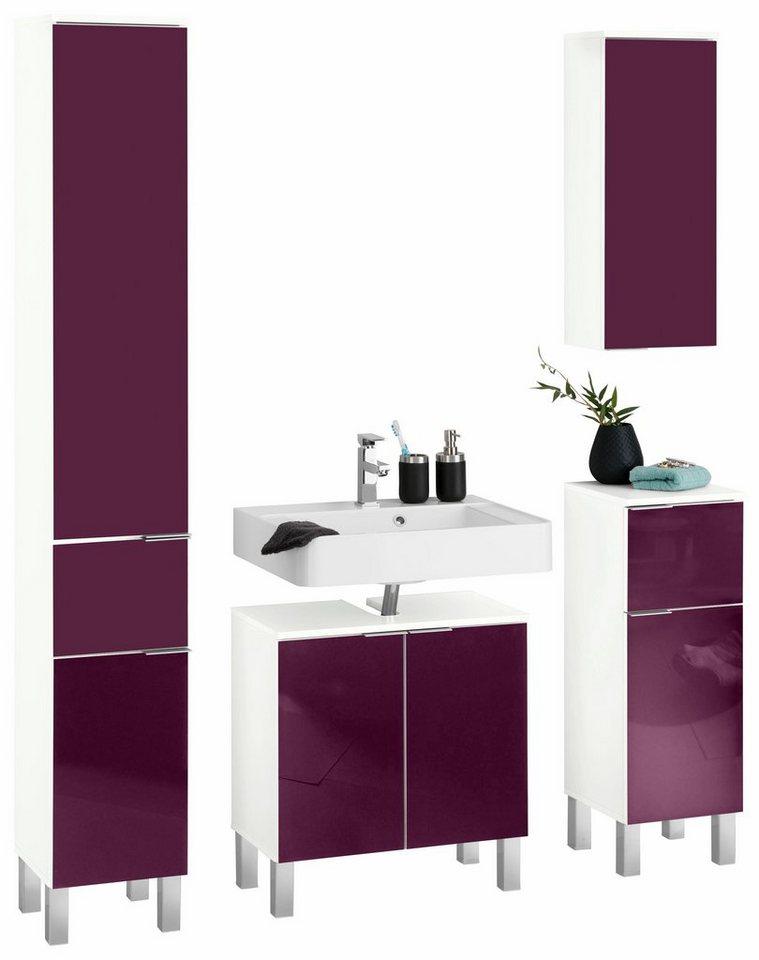 badm bel set tessin kesper 4 tlg kaufen otto. Black Bedroom Furniture Sets. Home Design Ideas