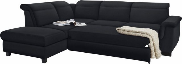 Sofas - DOMO collection Ecksofa, wahlweise mit Bettfunktion und Rückenverstellung  - Onlineshop OTTO