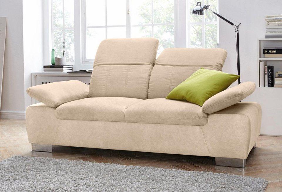 2 sitzer mit r ckenverstellung und federkern otto. Black Bedroom Furniture Sets. Home Design Ideas