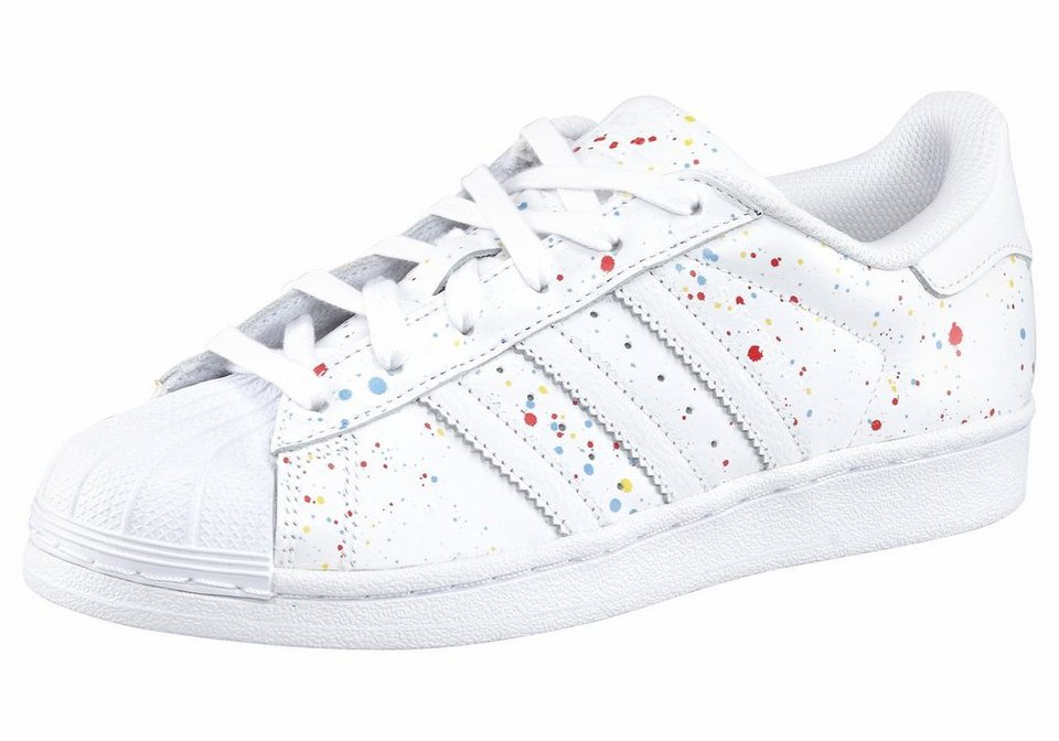 adidas Originals »Superstar W« Sneaker in weiß-bunt