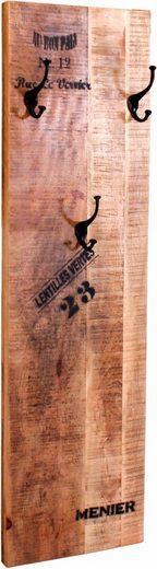 SIT Garderobenpaneel »Rustic«, im factory design, Breite 35 cm, Shabby Chic, Vintage