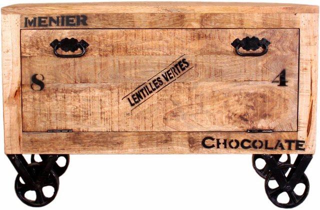 Schuhschränke und Kommoden - SIT Schuhschrank im factory design, Breite 85 cm, Shabby Chic, Vintage  - Onlineshop OTTO