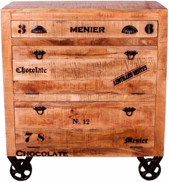 Schuhschränke und Kommoden - SIT Schuhschrank »Rustic« im Factory Design, Breite 82 cm, Shabby Chic, Vintage  - Onlineshop OTTO