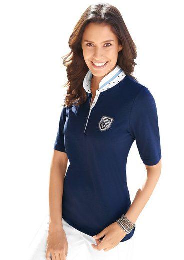 Alessa W. Shirt mit Tupfenmuster