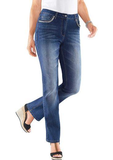 Alessa W. Jeans in modischer Waschung