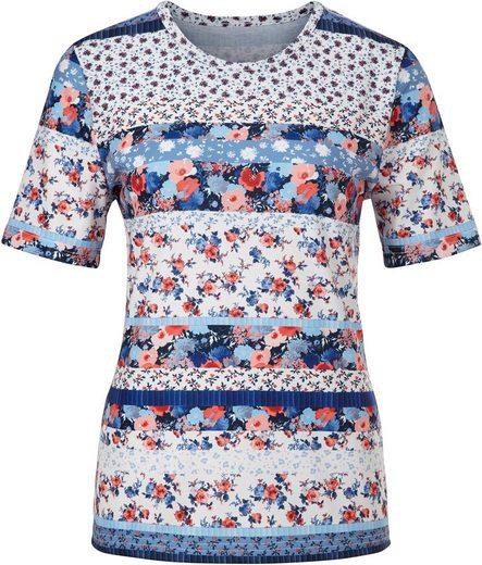 Classic Basics Shirt im fröhlichen Mustermix