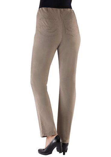 Classic Basics Jeans mit innenliegendem Dehnbund