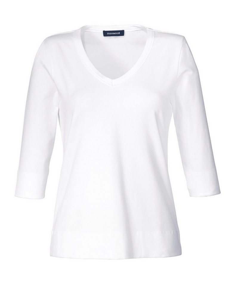 Highmoor T-Shirt in Weiß