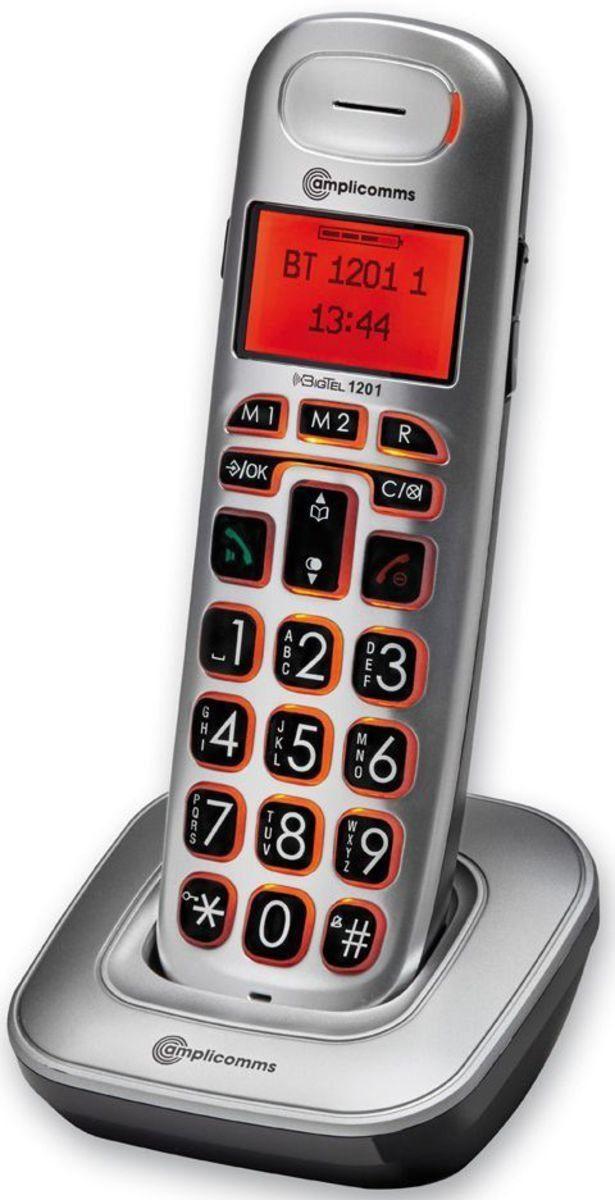 amplicomms Großtastentelefon »BigTel 1201 Mobilteil«