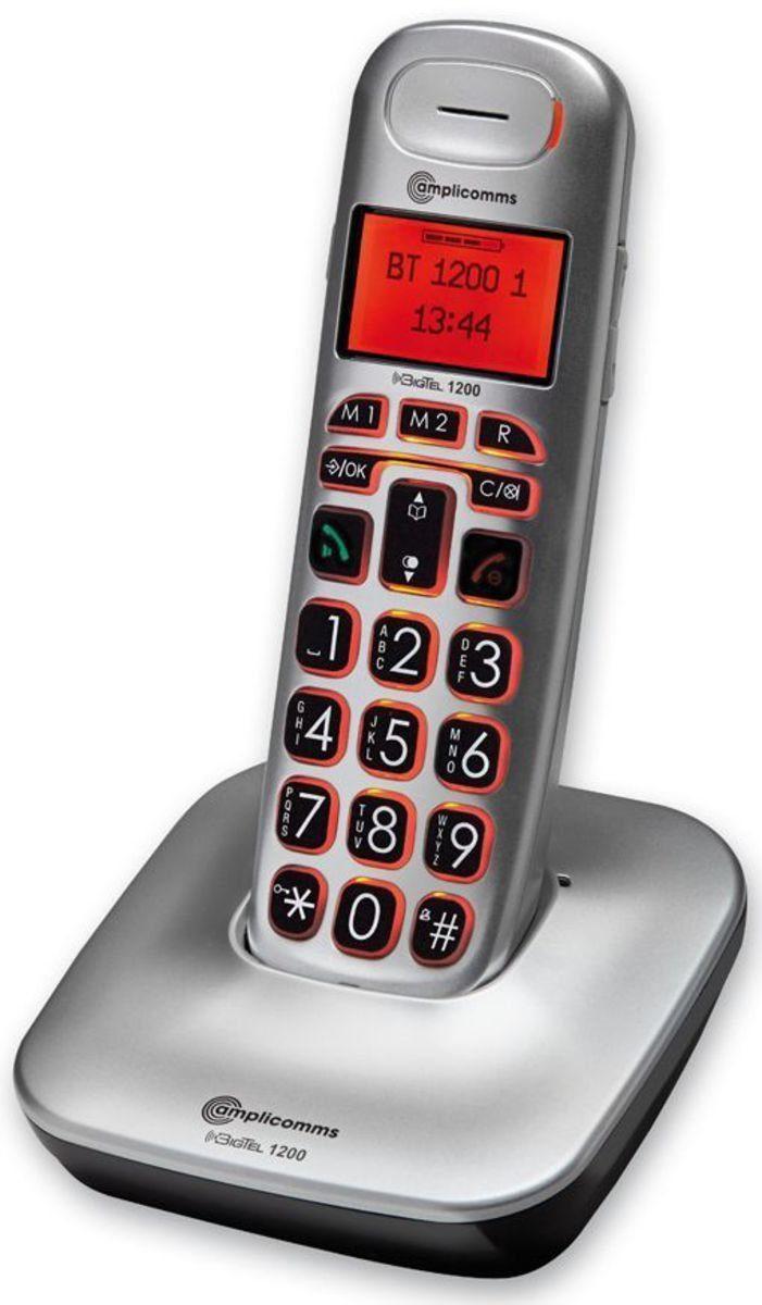 Audioline Großtastentelefon »BigTel 1200«