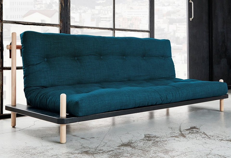 schlafsofa blau great schlafsofa blau with schlafsofa. Black Bedroom Furniture Sets. Home Design Ideas