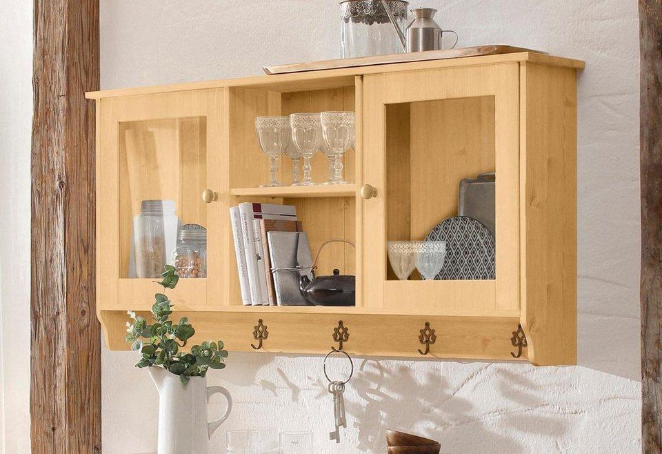 home affaire h ngevitrine anneke breite 134 cm otto. Black Bedroom Furniture Sets. Home Design Ideas